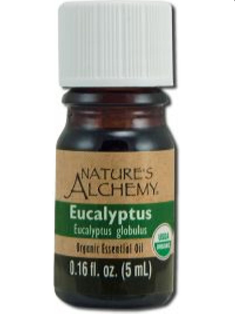 Nature's Alchemy, Eucalyptus Organic Essential Oil, 5 ml