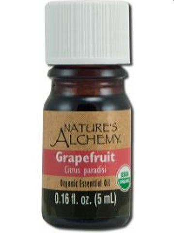 Nature's Alchemy, Grapefruit Organic Essential Oil, 5 ml