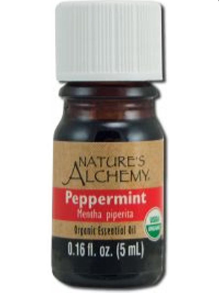 Nature's Alchemy, Peppermint Organic Essential Oil, 5 ml