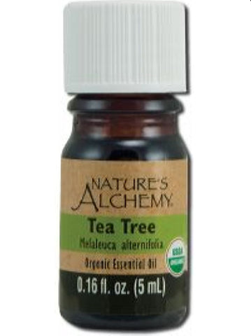 Nature's Alchemy, Tea Tree Organic Essential Oil, 5 ml