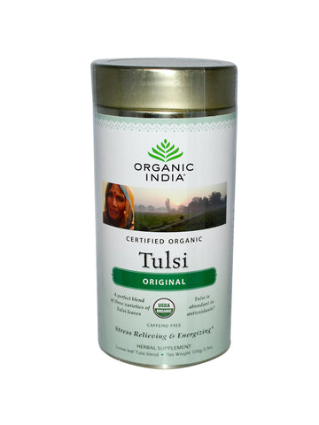 Tulsi Tea, Loose Leaf, 100 gm, Organic India