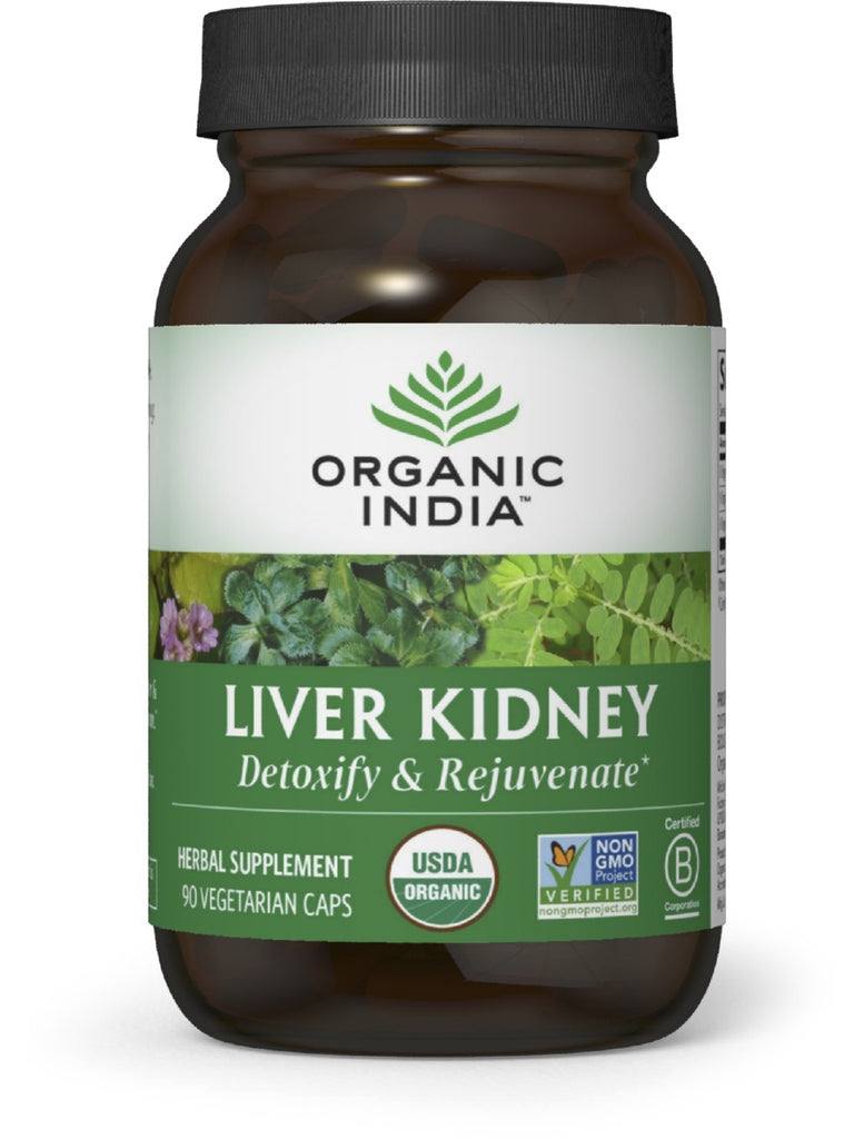 Liver Kidney, 90 ct, Organic India