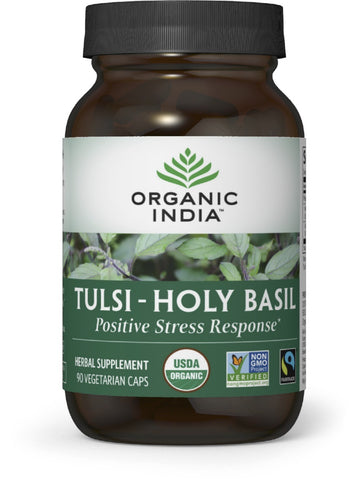 Organic India, Tulsi, Holy Basil, 90 caps