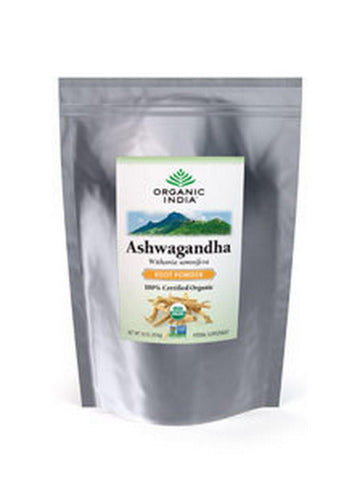 Bulk Herb Ashwagandha Root Powder, 1 lb, Organic India