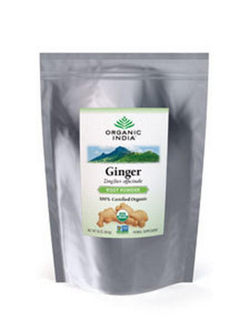 Bulk Herb Ginger Root Powder, 1 lb, Organic India