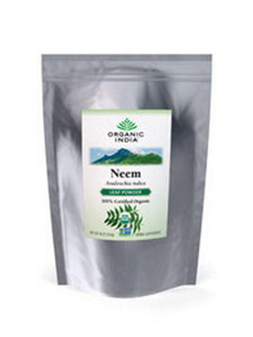 Bulk Herb Neem Leaf Powder, 1 lb, Organic India