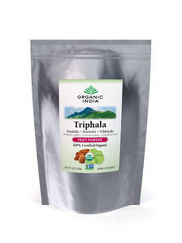 Bulk Herb Triphala Powder, 1 lb, Organic India