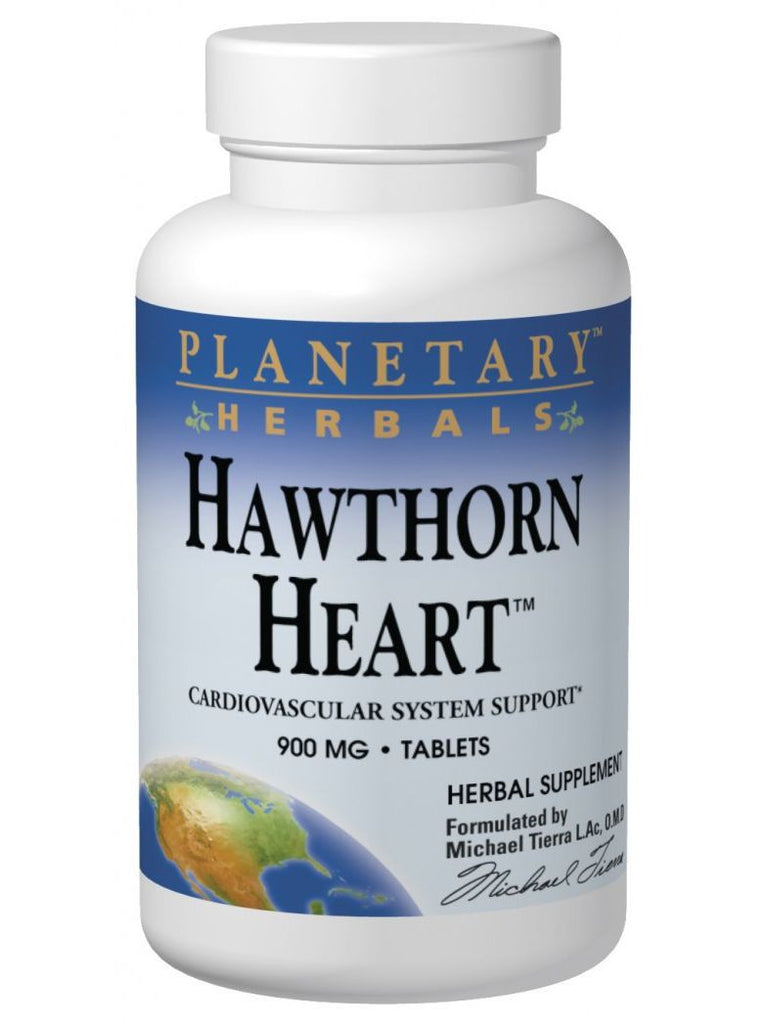 Planetary Herbals, Hawthorn Heart, 60 ct