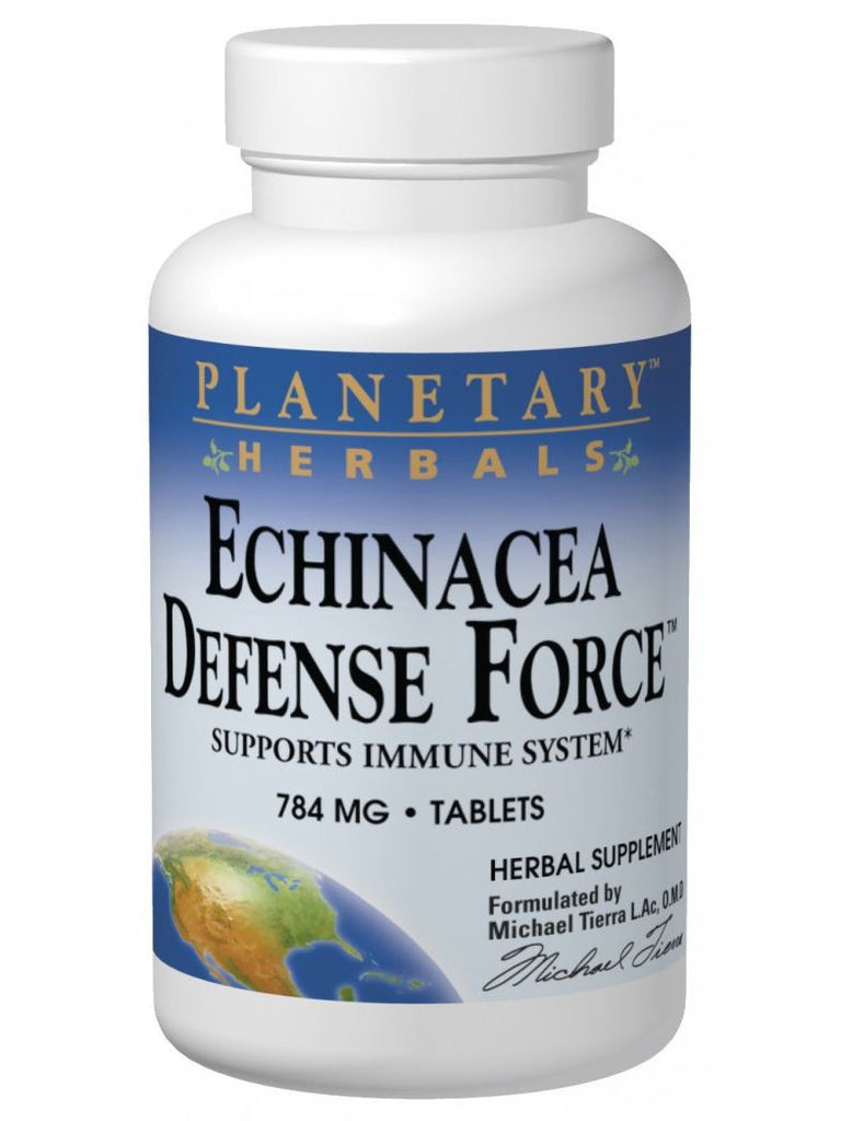 Planetary Herbals, Echinacea Defense Force, 42 ct