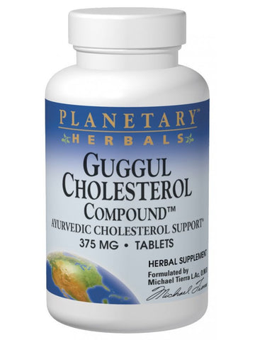 Planetary Herbals, Guggul Cholesterol Compound, 42 ct
