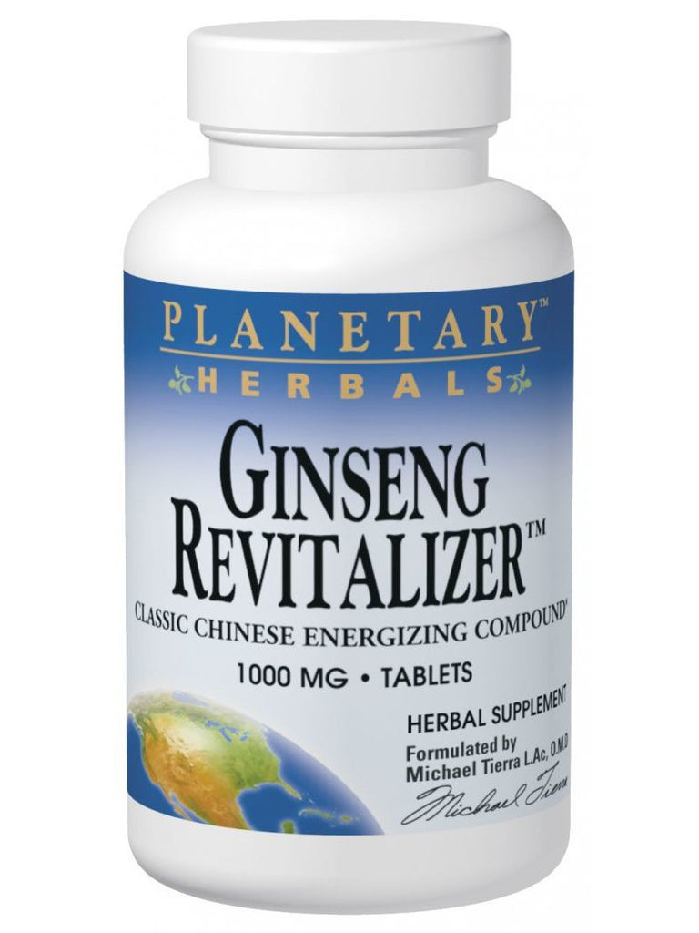 Planetary Herbals, Ginseng Revitalizer, 180 ct