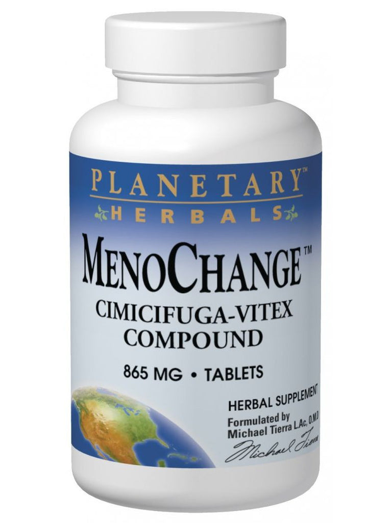 Planetary Herbals, MenoChange Cimicifuga-Vitex Compound, 100 ct