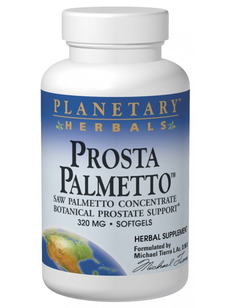 Planetary Herbals, Prosta Palmetto 320mg, 120 softgels