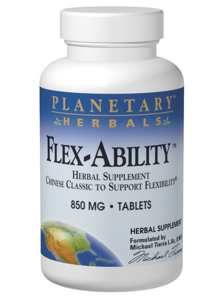 Planetary Herbals, Flex-Ability, 120 ct
