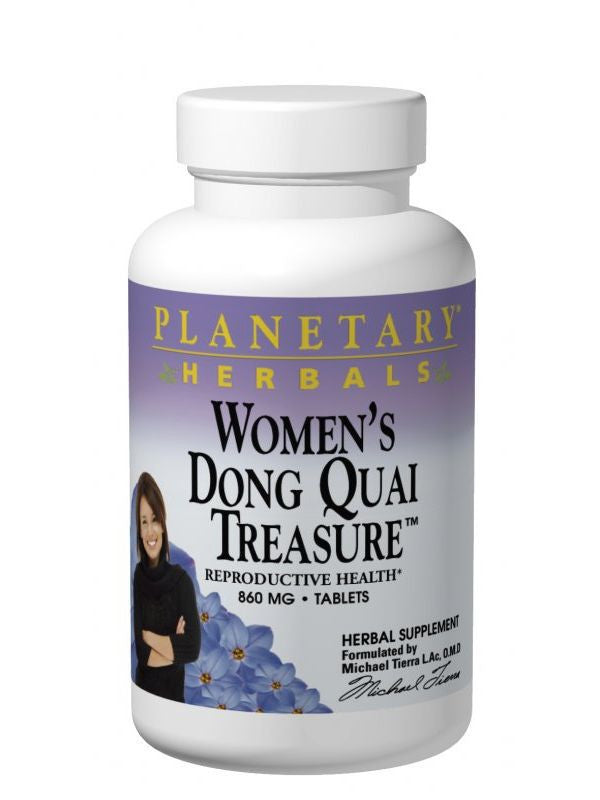 Women's Dong Quai Treasure, 120 ct, Planetary Herbals