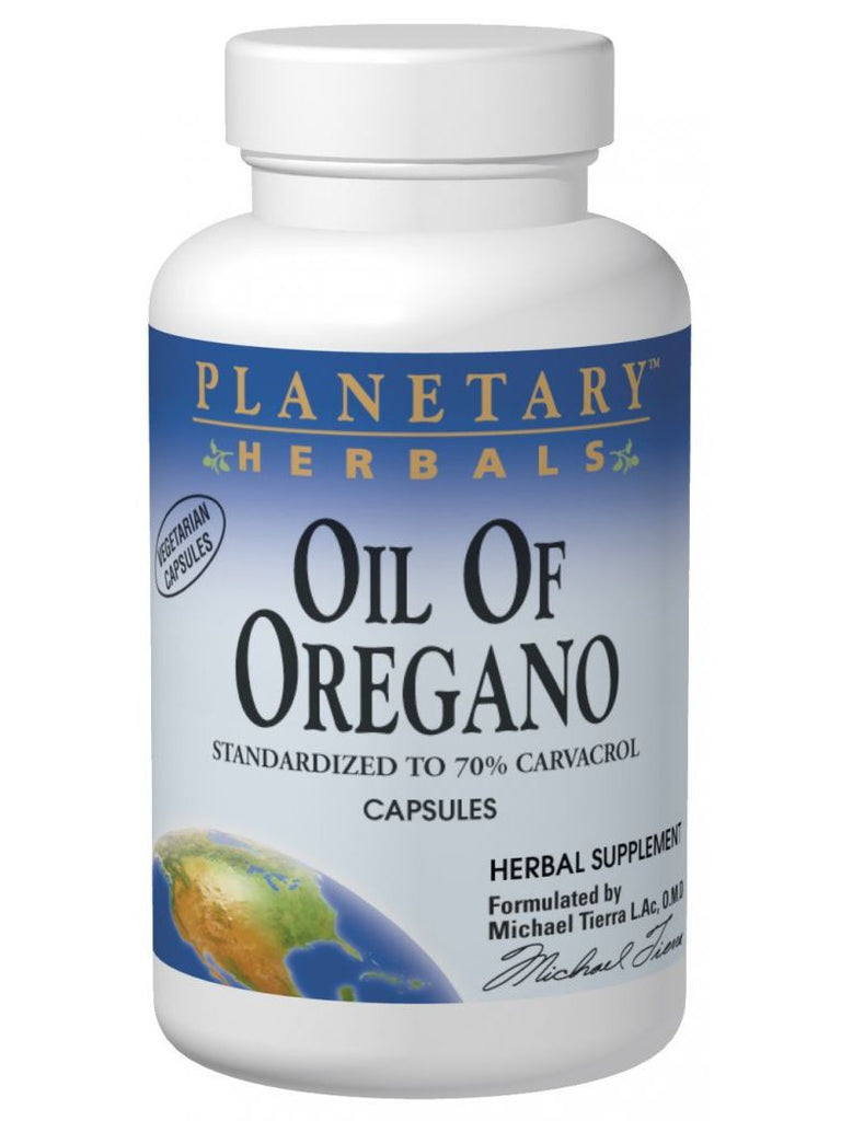 Planetary Herbals, Oil of Oregano, 60 ct