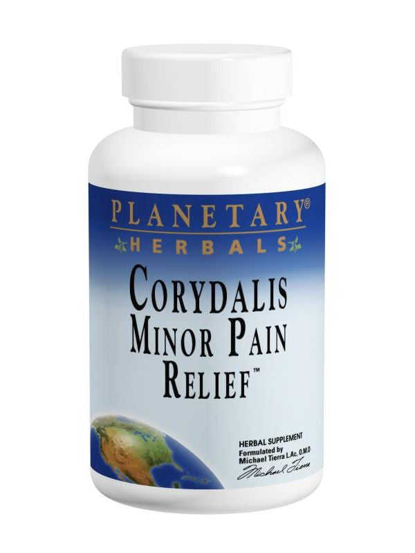 Planetary Herbals, Minor Pain Relief 750mg, 60 ct
