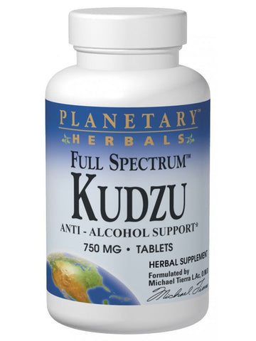 Planetary Herbals, Kudzu Full Spectrum 750mg, 60 ct