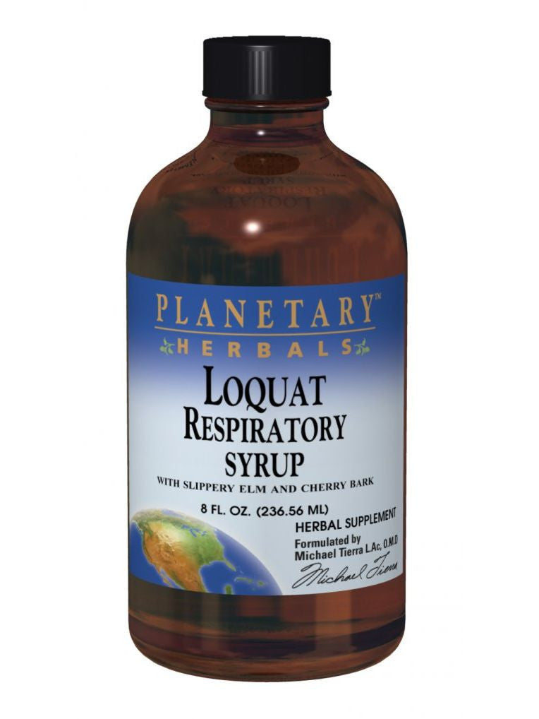 Planetary Herbals, Loquat Respiratory Syrup, 8 oz