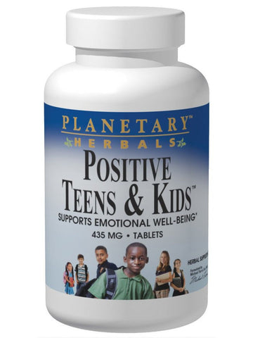 Planetary Herbals, Positive Teens & Kids, 120 ct