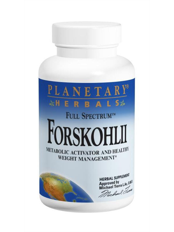 Planetary Herbals, Forskohlii Full Spectrum 130mg, 60 ct