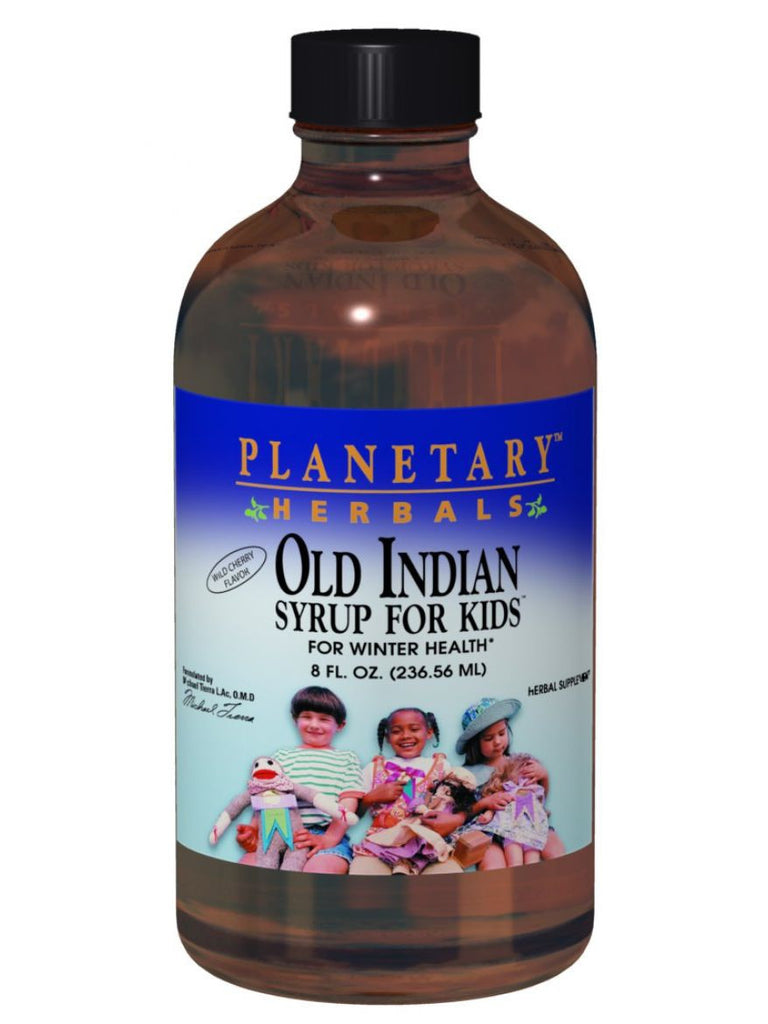 Planetary Herbals, Old Indian Syrup for Kids, 8 oz