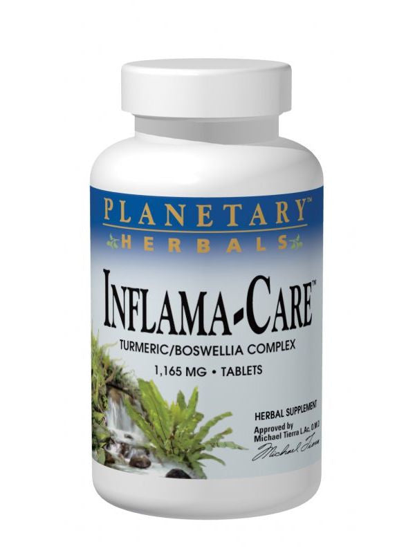 Planetary Herbals, Inflama-Care, 120 ct
