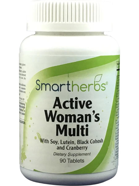 Smart Herbs, Active Woman's Multi, 90 tabs