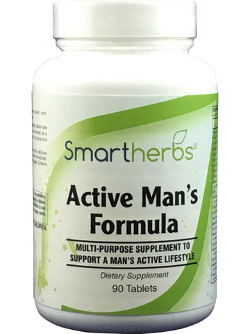 Smart Herbs, Active Man's Formula, 90 tabs