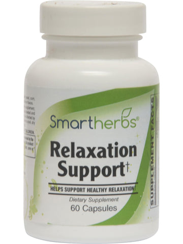 Smart Herbs, Relaxation Support, 60 caps