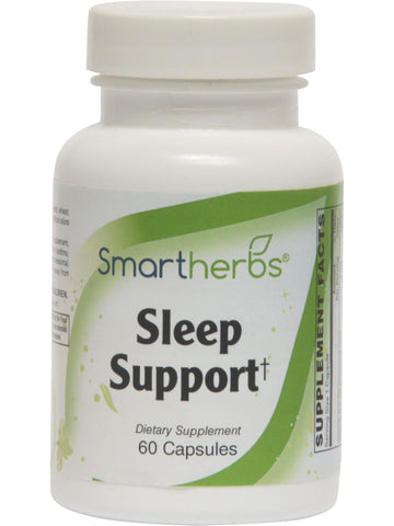 Smart Herbs, Sleep Support, 60 caps