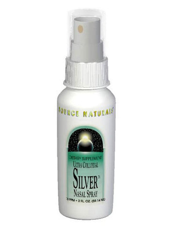 Source Naturals, Ultra Colloidal Silver Nasal Spray 10ppm, 2 oz