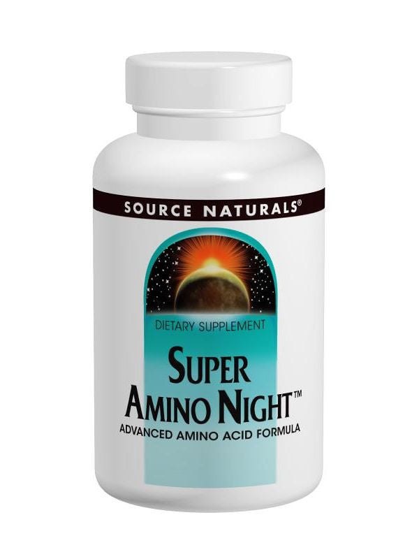 Source Naturals, Super Amino Night, 60 ct