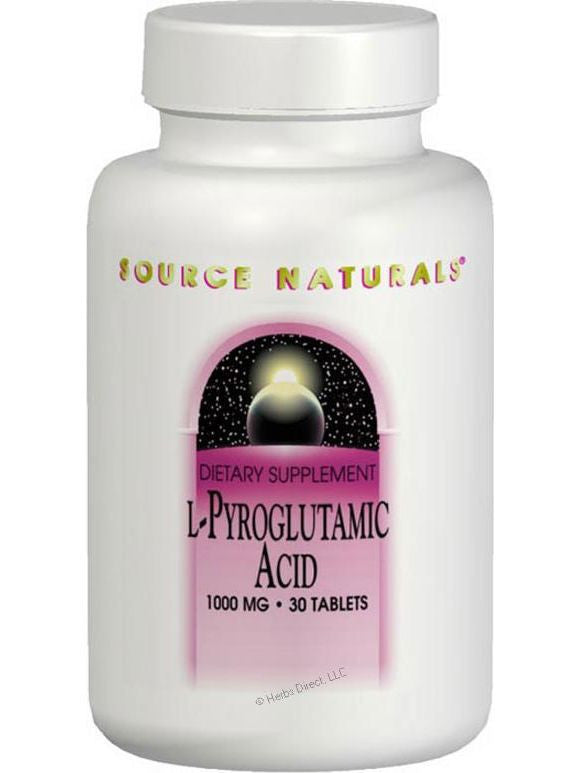 Source Naturals, L-Pyroglutamic Acid, 1000mg, 120 ct