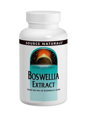 Source Naturals, Boswellia Extract, w/244mg Boswellic Acids, 100 ct