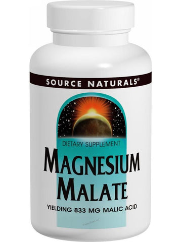Source Naturals, Magnesium Malate, 1250mg, 180 ct