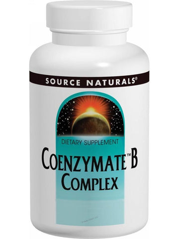 Source Naturals, Coenzymate Vitamin B Comp w/CoQ10 Subl Orange, 60 ct
