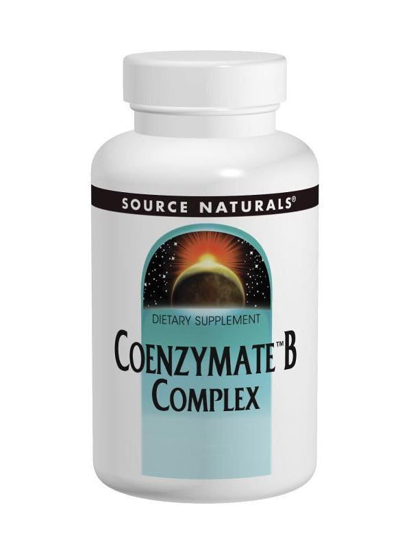 Source Naturals, Coenzymate Vitamin B Comp w/CoQ10 Subl Orange, 120 ct