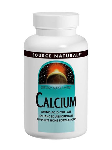 Source Naturals, Calcium, 200mg, 250 ct