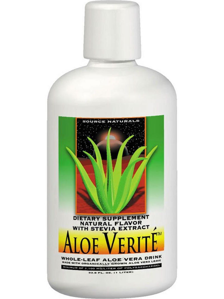 Source Naturals, Aloe Verite Whole Leaf, 60 ct