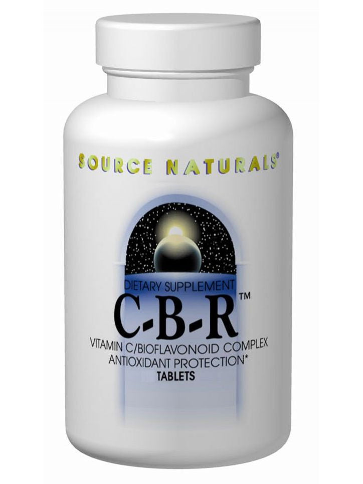 Source Naturals, CBR Vitamin C, 500mg w/Bioflavonoids, 100 ct