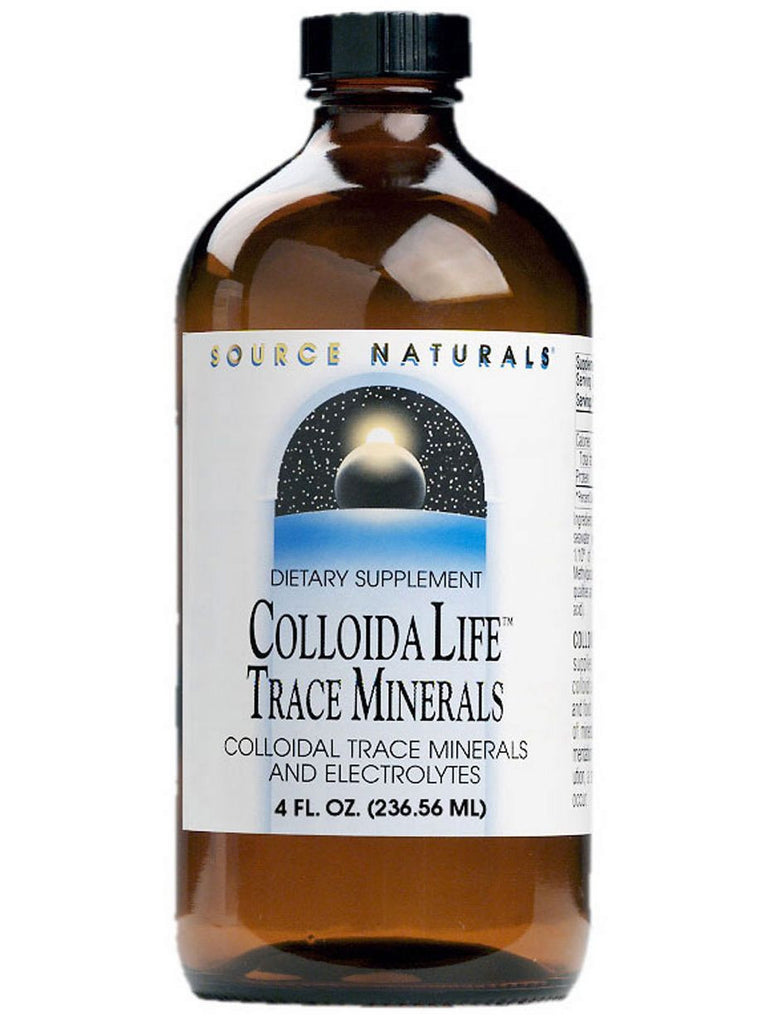 Source Naturals, ColloidaLife Trace Minerals Fruit Flavored, 4 oz