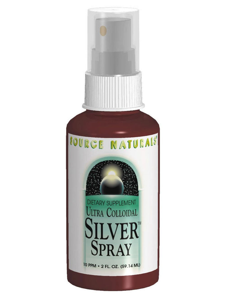 Source Naturals, Ultra Colloidal Silver Mouth and Throat Spray 10ppm, 2 oz
