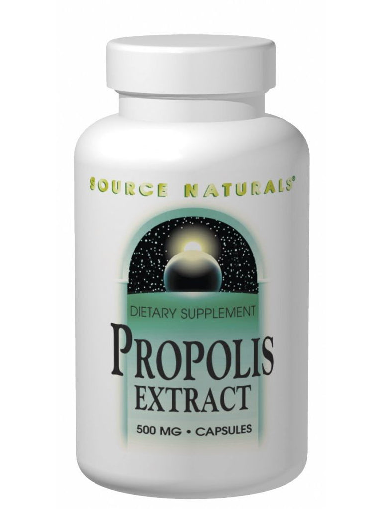 Source Naturals, Propolis Extract, 500mg, 60 ct