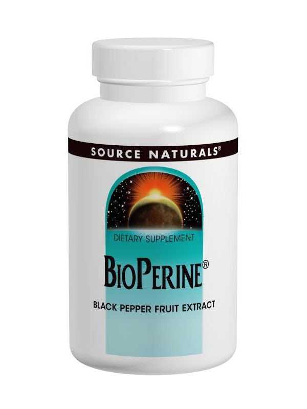 Source Naturals, BioPerine, 10mg, 120 ct