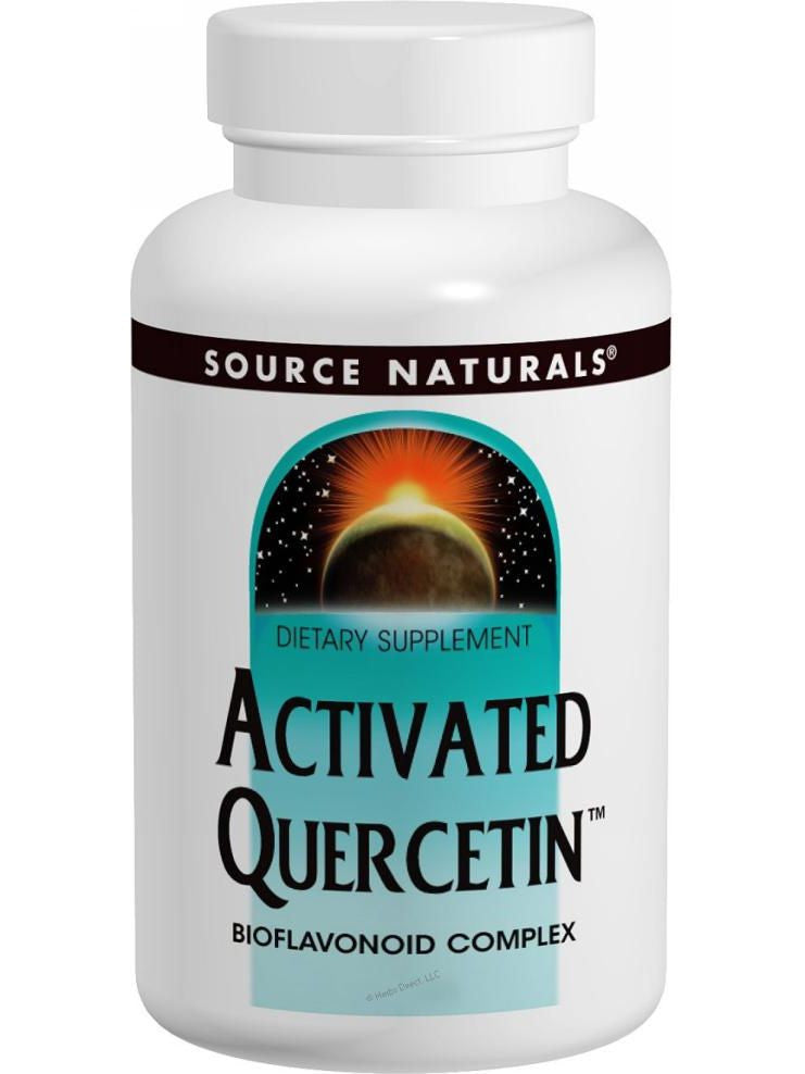 Source Naturals, Activated Quercetin, 50 ct