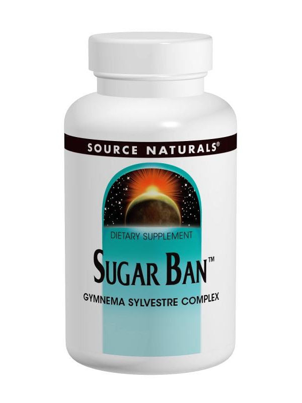Source Naturals, Sugar Ban Gymnema Sylvestre Complex, 30 ct