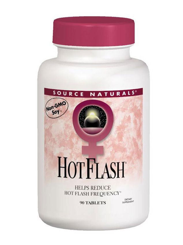 Source Naturals, Hot Flash, 90 ct