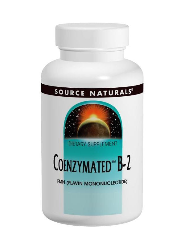 Source Naturals, Coenzymated Vitamin B-2, 25mg, 60 Sublingual