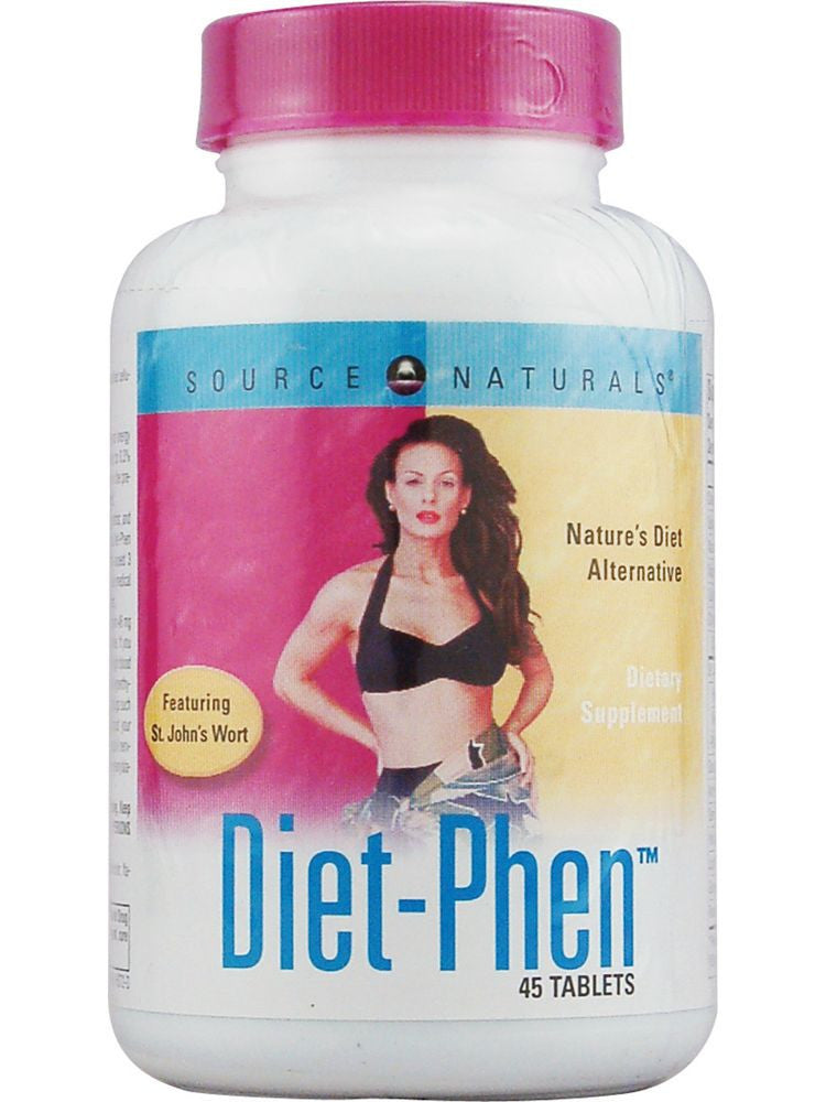 Source Naturals, Diet-Phen, 45 ct